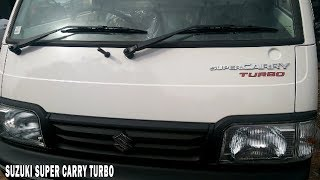 Suzuki Super Carry Turbo Mini Truck with Payload Capacity 740kg,Price 4 lakhs,Mileage 22kmpl