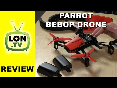 Parrot BeBop Drone Review and Sample Footage - Easy out of the box quadcopter video drone