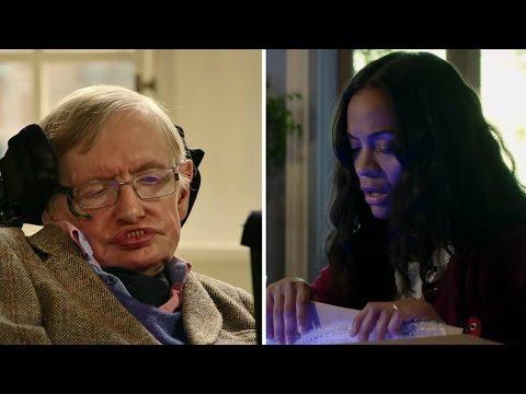 Stephen Hawking + Zoe Saldana: Quantum is Calling ft. Keanu Reeves, Simon Pegg, John Cho, Paul Rudd