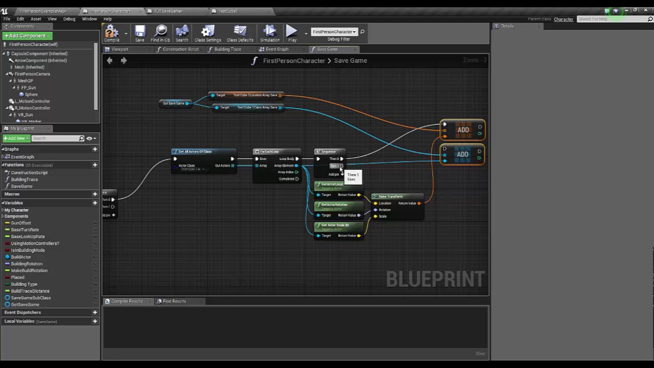 Ue4 save and load bp actors youtube malvernweather Gallery