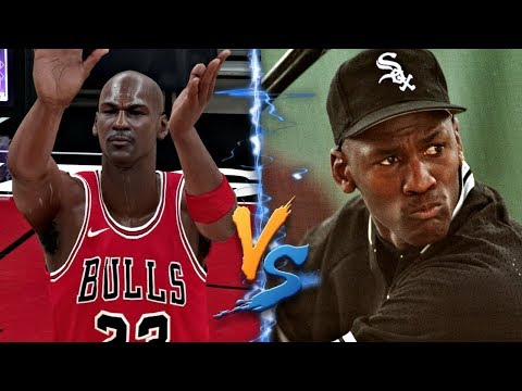 Can Michael Jordan Hit A Home Run Faster Than He Can Hit A Full Court Shot?