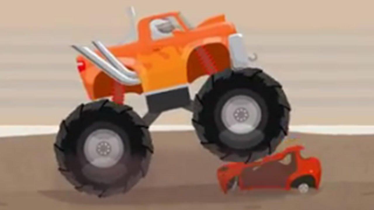 Doktor MacWheelie hat einen Monstertruck   Cartoon für Kinder - YouTube