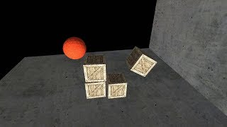 3D Collision detection & simple physics engine - Separating Axis Theorem, Impulse based response