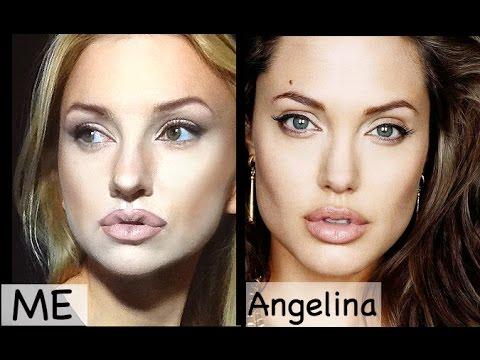 angelina jolie makeup transformation youtube