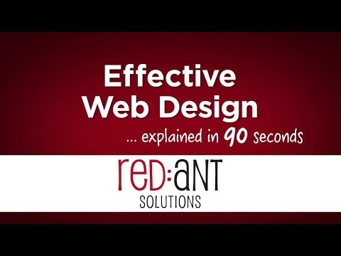 Responsive Web Design video from Red Ant Solutions