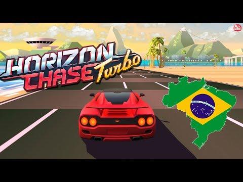 HORIZON CHASE TURBO - JOGANDO PISTAS DO BRASIL    TOP GEAR MODERNO NO PS4!
