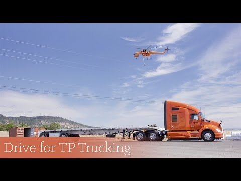 Start a Career with TP Trucking