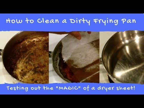 How to Clean a Dirty Frying Pan
