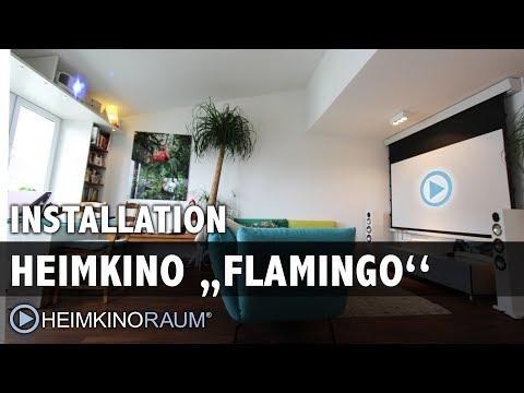 Heimkino Flamingo - made by HEIMKINORAUM Mannheim