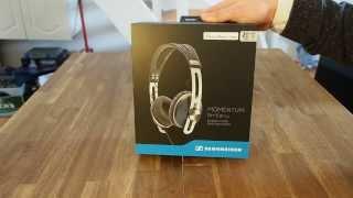 Unboxing Sennheiser Momentum On-Ear Headphones
