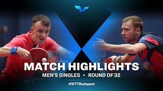 Alexandre Robinot vs Alexander Shibaev | WTT Contender Budapest 2021 (R32)
