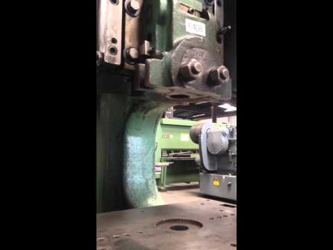 Rousselle - Model 3G Gap Frame Single Crank Punch Press   25 Ton   Stock # 6408