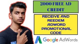 how to get promo code in google adwords and redeem / Gadgets World