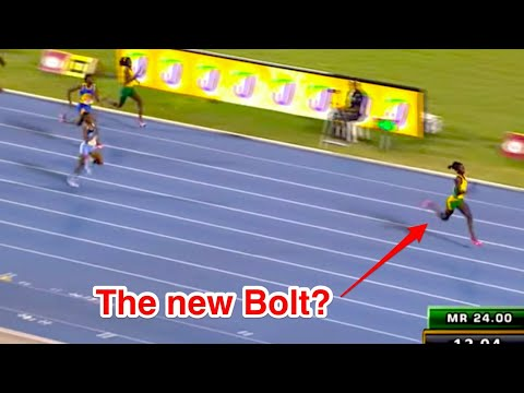 FASTEST 13 YEAR OLD GIRL IN THE WORLD 100M RACE 2017