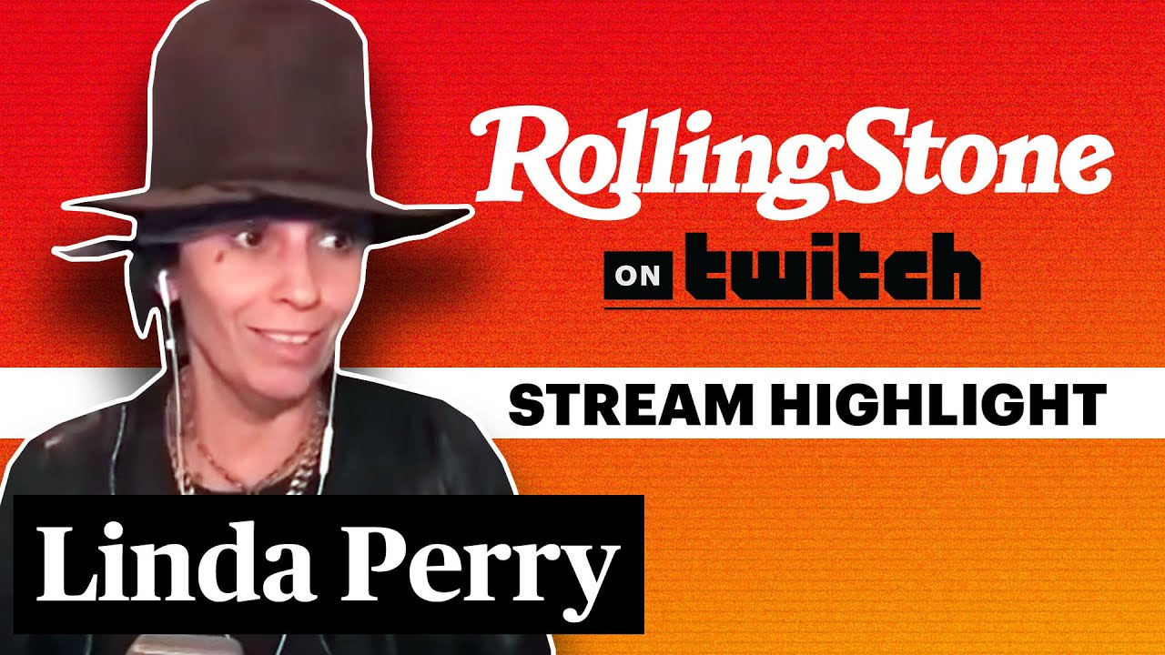 Linda Perry Talks Creative Process & New Song 'The Letter' | RS On Twitch
