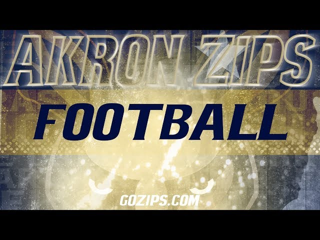 Arth Completes Akron Football Staff - University of Akron Athletics