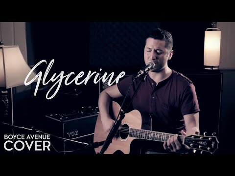 Glycerine  Bush  Gavin Rossdale Boyce Avenue acoustic  on  & Apple