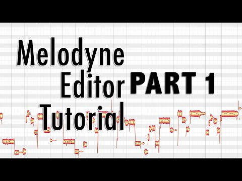 Melodyne Editor - part 1 - Basics of Vocal Tuning, Getting Started
