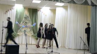 """Новогодний КВН. Приветствие команды """"На своей волне"""""""