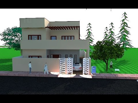 10 MARLA HOUSE DESIGN IN PAKISTAN - YouTube