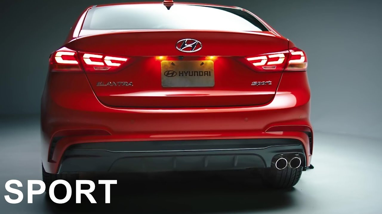 2018 Hyundai Elantra Sport Review Youtube