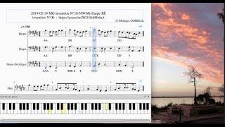 2019 02 19 MG invention N°10 N09 Mi Harpe BÉ