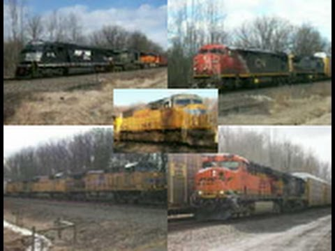 12 Hours at Lyons, NY 3/17/13 Part 2 with CSX, CN, and UP!!!