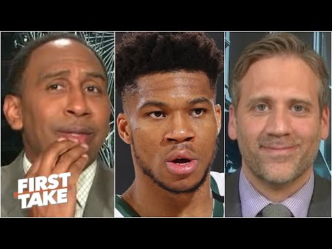 Stephen A. & Max react to reports of Giannis leaving the Bucks for the Heat   First Take