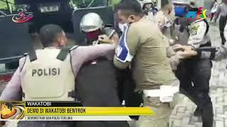 Demo di Wakatobi Bentrok, Demonstran dan Polisi Terluka