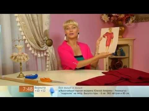 167 - Ольга Никишичева. Трикотажное платье