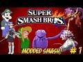 Super Smash Bros. Wii U! Modded Smash Returns! Part 1 - YoVideogames