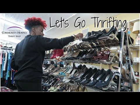 Let's Go Thrifting (+ mini haul) - Community Hospice Thrift Shop | RushOurFashion