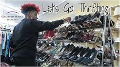 Let's Go Thrifting (+ mini haul) - Community Hospice Thrift Shop | RushOurFashion