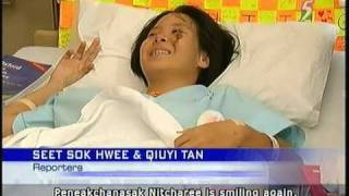 Thai teen in MRT accident reunites with father - 08Apr2011