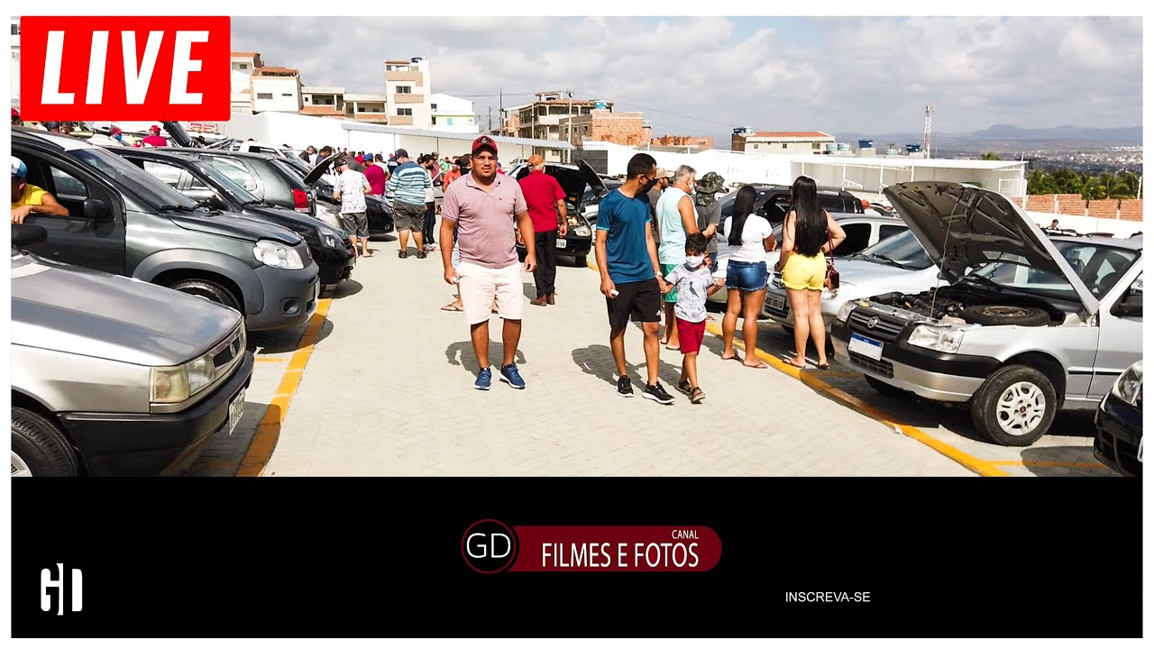 Feira De Carros Usados Em Caruaru  LIVE
