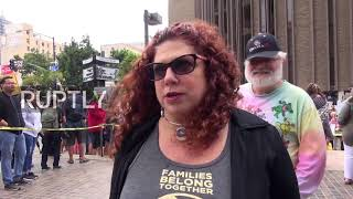 USA: San Diego protests southern border immigrant separations