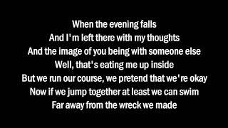 Marshmello Ft Bastille - Happier (Lyrics Video)