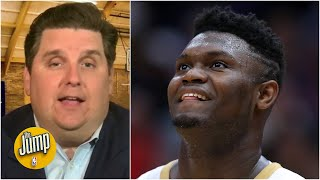 Zion's biggest goal as a 20-year-old, according to Scottie Pippen and Brian Windhorst | The Jump