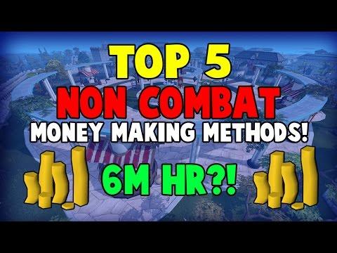 Runescape 2017   Top 5 Non-combat Money Making Methods   6m/hr?!