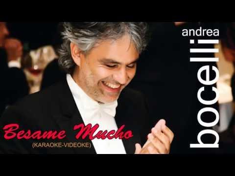 Besame Mucho - Andrea Bocelli (♪Karaoke-Videoke)