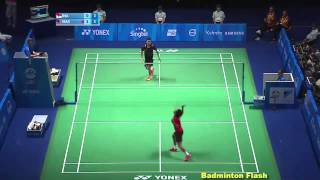[Highlights][Lee Chong Wei Vs Firman Abdul Kholik][28th Sea Games]