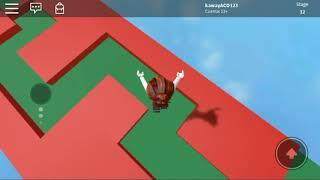Roblox game with uwu friend (kaway tv)