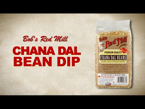 Chana Dal | Spicy Bean Dip Recipe | Bobs Red Mill Natural Foods