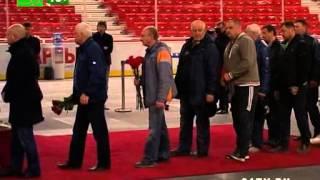 Сегодня похоронили экс тренера Трактора Валерия Белоусова