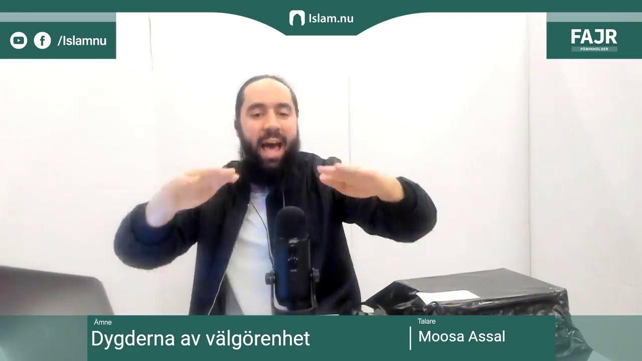 Dygderna av välgörenhet | Fajr påminnelse #21 med Moosa Assal
