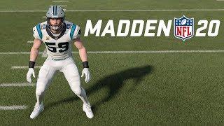 LUKE KUECHLY SHUTDOWN ACTIVATED! Madden 20 Online Ranked Gameplay