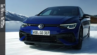 2021 Volkswagen Golf R Ice Driving, Interior, Exterior