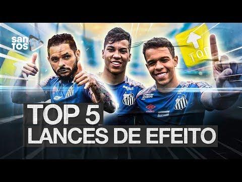 TOP 5 | LANCES DE EFEITO DO SANTOS EM 2019