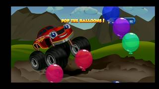 Funny game for kids - Trucks over terrain, racing trucks