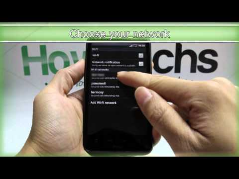 How to Set Up Wifi on HTC Desire HD